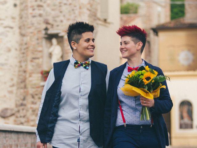 Il matrimonio di Stefania e Cristina a Valeggio sul Mincio, Verona 27