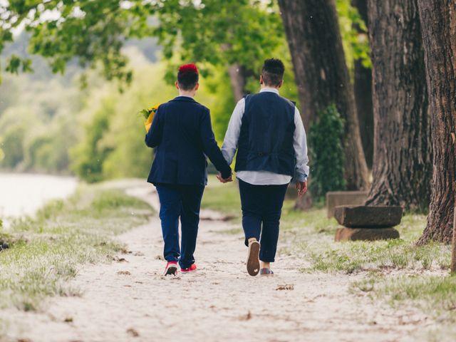 Il matrimonio di Stefania e Cristina a Valeggio sul Mincio, Verona 30