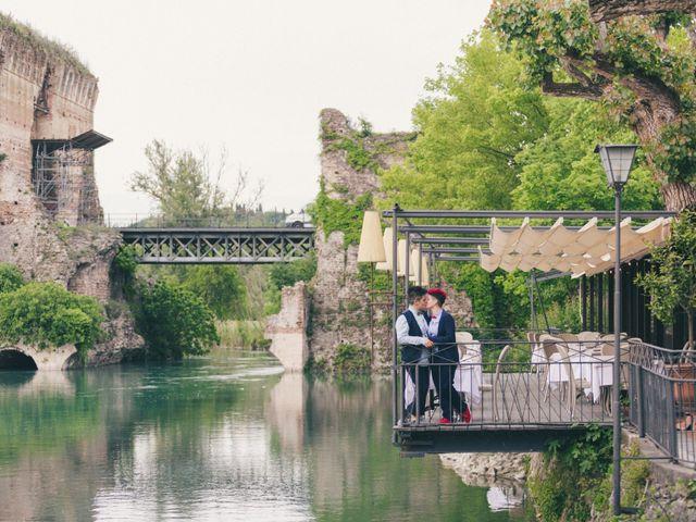 Il matrimonio di Stefania e Cristina a Valeggio sul Mincio, Verona 38