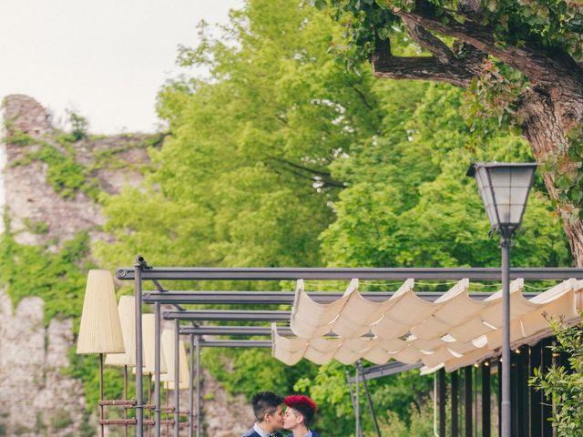 Il matrimonio di Stefania e Cristina a Valeggio sul Mincio, Verona 2