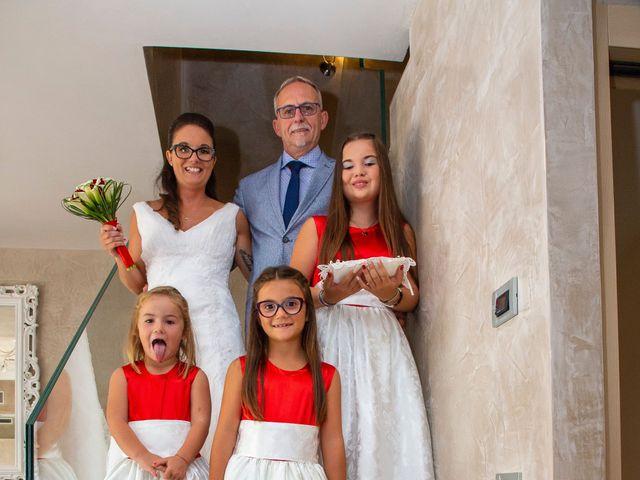 Il matrimonio di Alessandra e Mattia a Torre di Mosto, Venezia 9