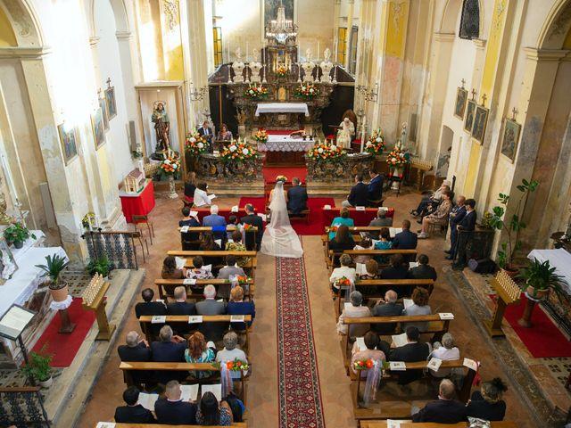 Il matrimonio di Simone e Tiziana a Gropello Cairoli, Pavia 15