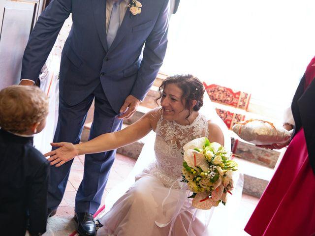 Il matrimonio di Simone e Tiziana a Gropello Cairoli, Pavia 20