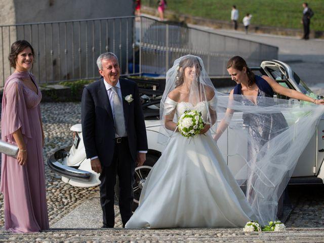 Il matrimonio di Massimo e Elena a Calco, Lecco 9