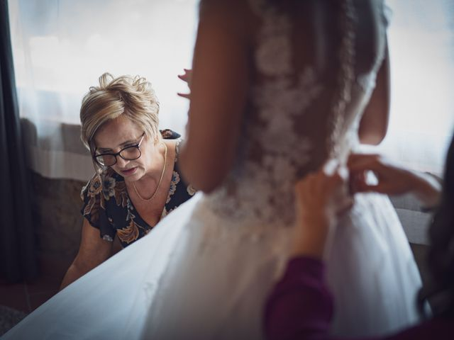 Il matrimonio di Alessio e Mirka a Carmignano, Prato 17