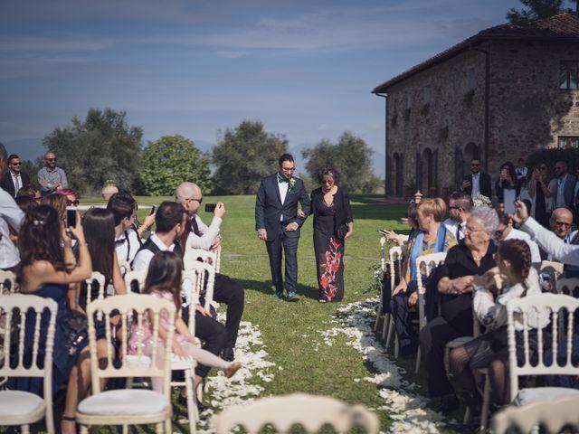 Il matrimonio di Alessio e Mirka a Carmignano, Prato 24