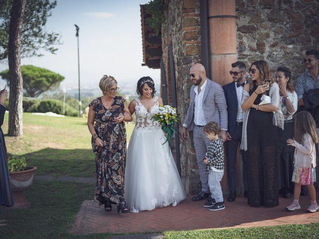 Il matrimonio di Alessio e Mirka a Carmignano, Prato 25