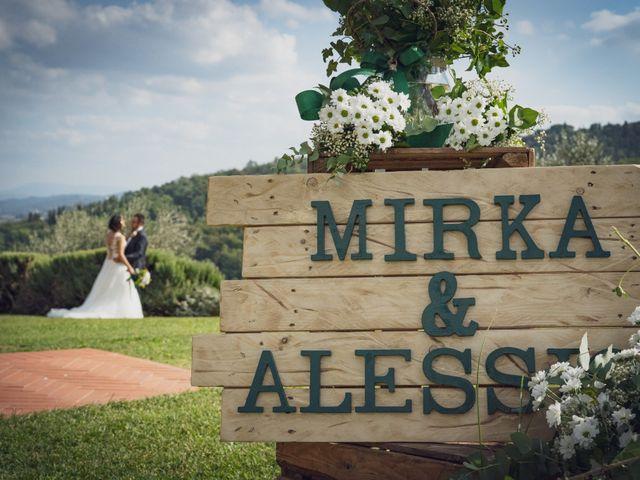 Il matrimonio di Alessio e Mirka a Carmignano, Prato 39