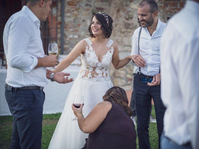 Il matrimonio di Alessio e Mirka a Carmignano, Prato 43