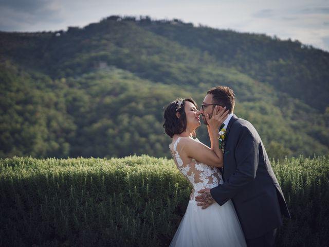Il matrimonio di Alessio e Mirka a Carmignano, Prato 45