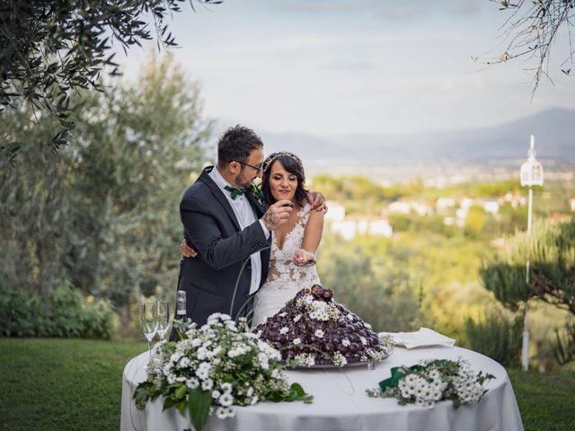 Il matrimonio di Alessio e Mirka a Carmignano, Prato 46