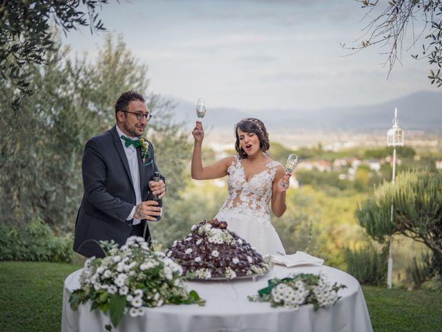 Il matrimonio di Alessio e Mirka a Carmignano, Prato 47