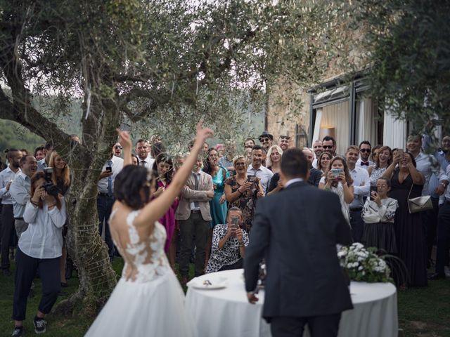 Il matrimonio di Alessio e Mirka a Carmignano, Prato 48