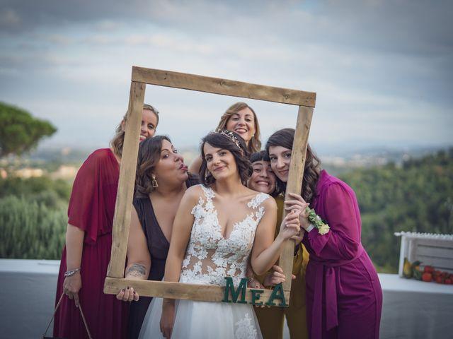 Il matrimonio di Alessio e Mirka a Carmignano, Prato 49