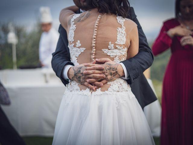 Il matrimonio di Alessio e Mirka a Carmignano, Prato 56