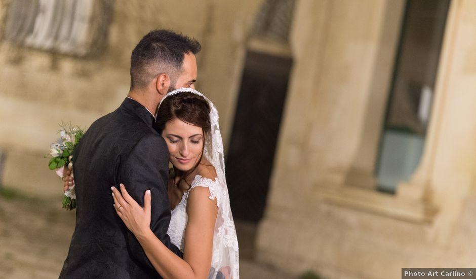 Il matrimonio di Simona e Cesare a Aradeo, Lecce