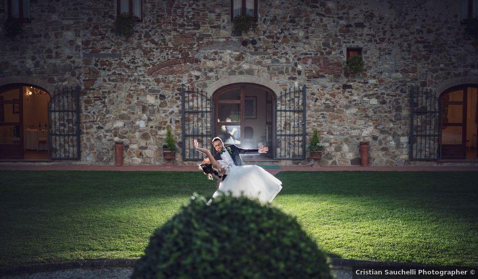 Il matrimonio di Alessio e Mirka a Carmignano, Prato