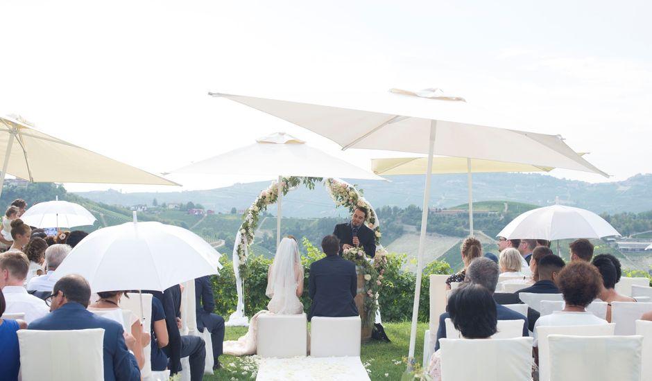 Il matrimonio di Frank e Laura a Serralunga d'Alba, Cuneo