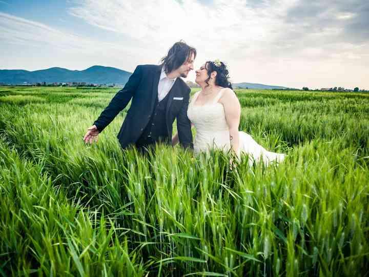 Le nozze di Rosa e Gianluca