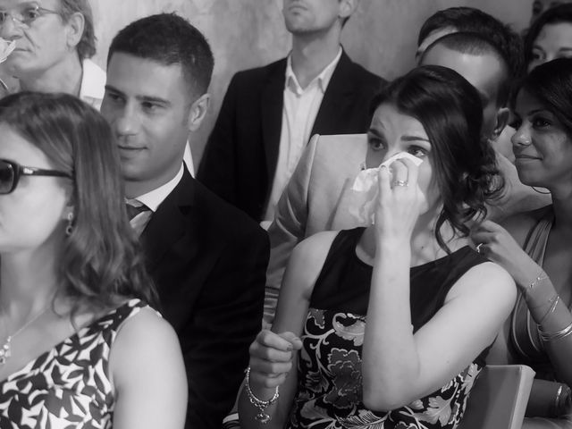 Il matrimonio di Cedric e Deborah a Provaglio d'Iseo, Brescia 12