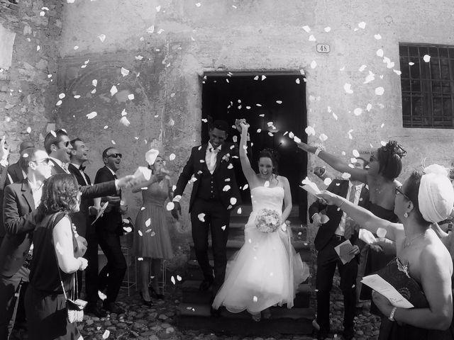Il matrimonio di Cedric e Deborah a Provaglio d'Iseo, Brescia 1