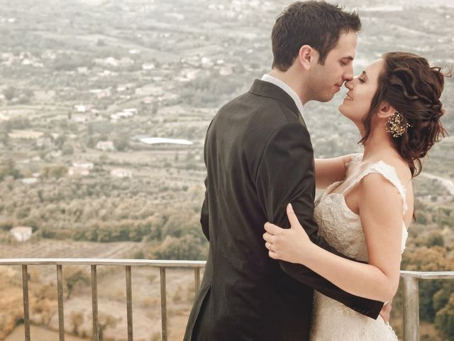 Il matrimonio di Albertina e Enrico Carlo a Oliveto Citra, Salerno 1