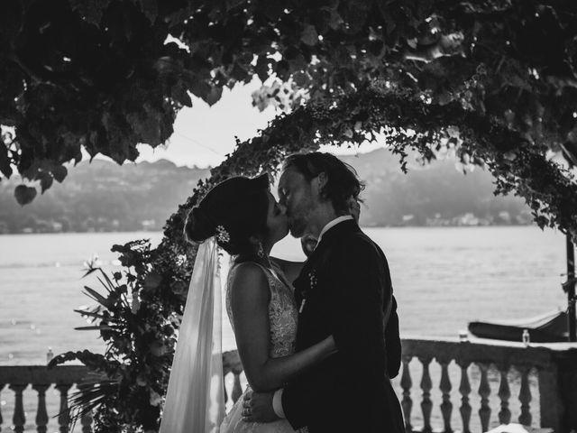 Il matrimonio di Jonathan e Marina a Angera, Varese 50
