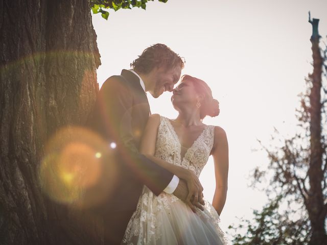 Il matrimonio di Jonathan e Marina a Angera, Varese 74