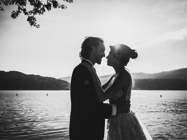 Il matrimonio di Jonathan e Marina a Angera, Varese 78