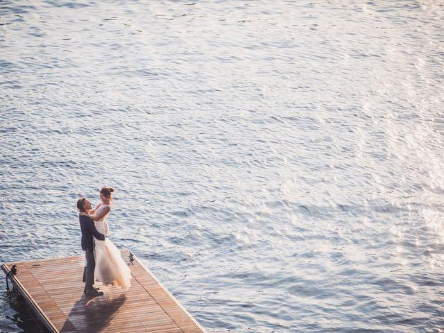 Il matrimonio di Jonathan e Marina a Angera, Varese 1