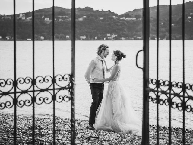 Il matrimonio di Jonathan e Marina a Angera, Varese 82