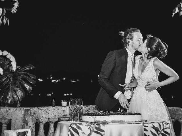 Il matrimonio di Jonathan e Marina a Angera, Varese 91