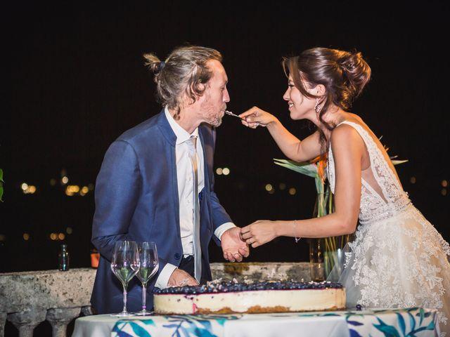 Il matrimonio di Jonathan e Marina a Angera, Varese 92