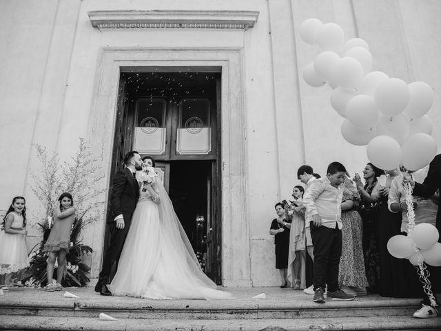 Il matrimonio di Valerio e Ramona a Nettuno, Roma 78