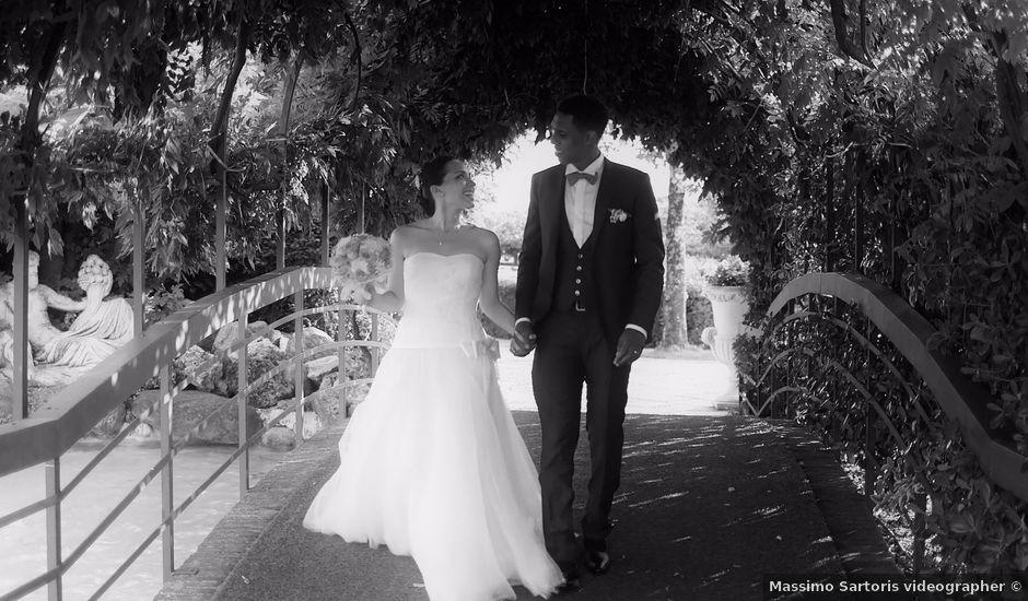 Il matrimonio di Cedric e Deborah a Provaglio d'Iseo, Brescia