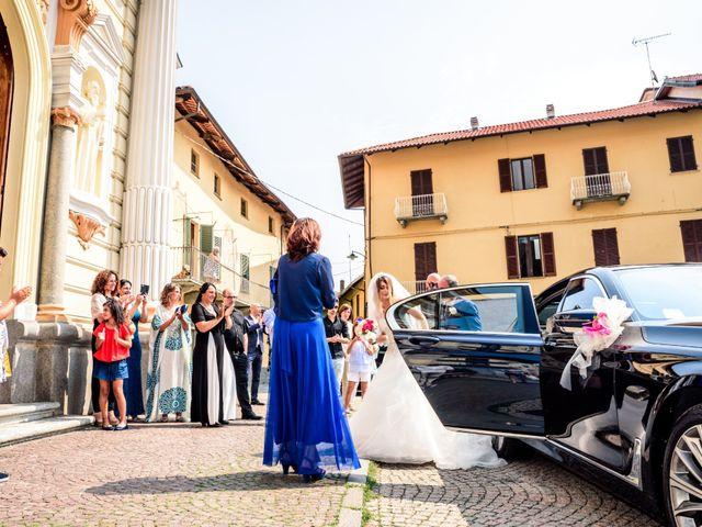 Il matrimonio di Patrick e Elisa a Valperga, Torino 14