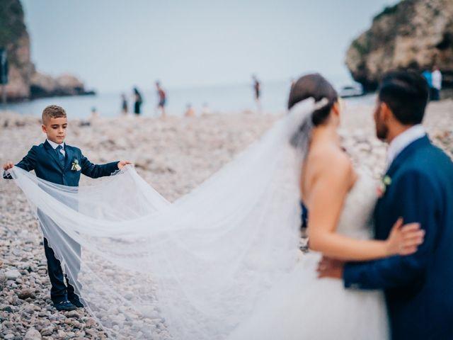 Il matrimonio di Filippo e Roberta a Calatabiano, Catania 35