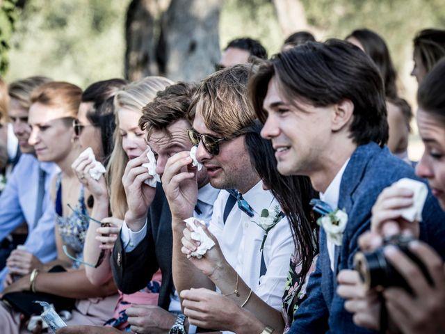 Il matrimonio di Thijs e Biondi a Montegridolfo, Rimini 40