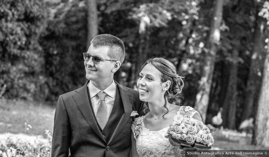 Il matrimonio di Gabriele e Monica a Cuggiono, Milano