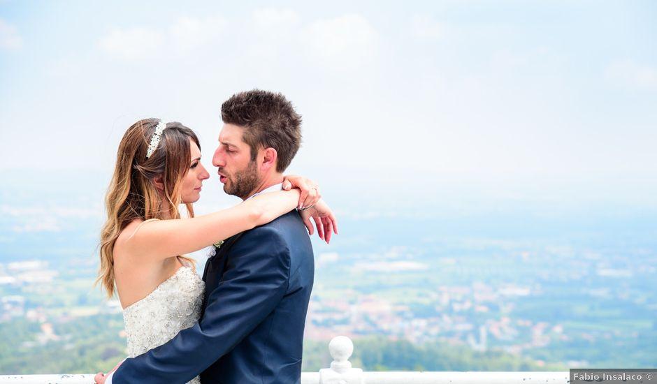 Il matrimonio di Patrick e Elisa a Valperga, Torino