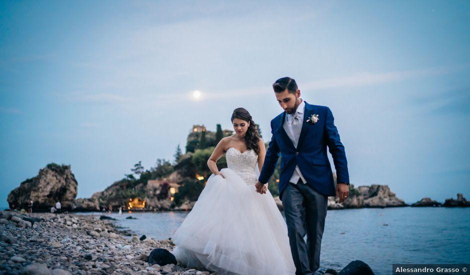 Il matrimonio di Filippo e Roberta a Calatabiano, Catania