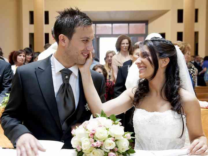 le nozze di Maura e Fabio