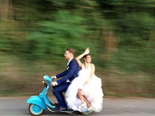 Le nozze di Romina  e Dario 1