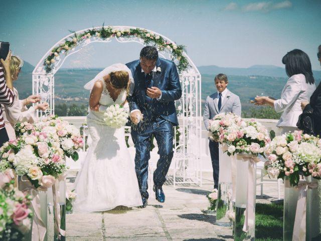Location Matrimonio Bassano Romano : Il matrimonio di michelangelo e patrizia a bassano romano