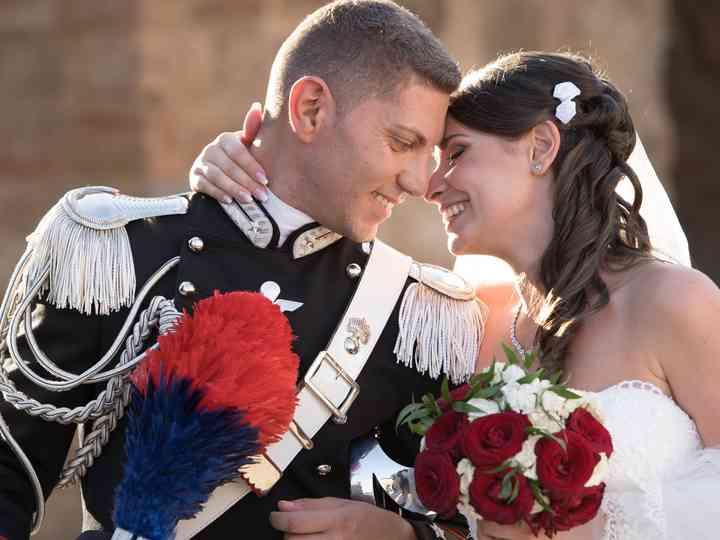 le nozze di Antonietta e Mirko