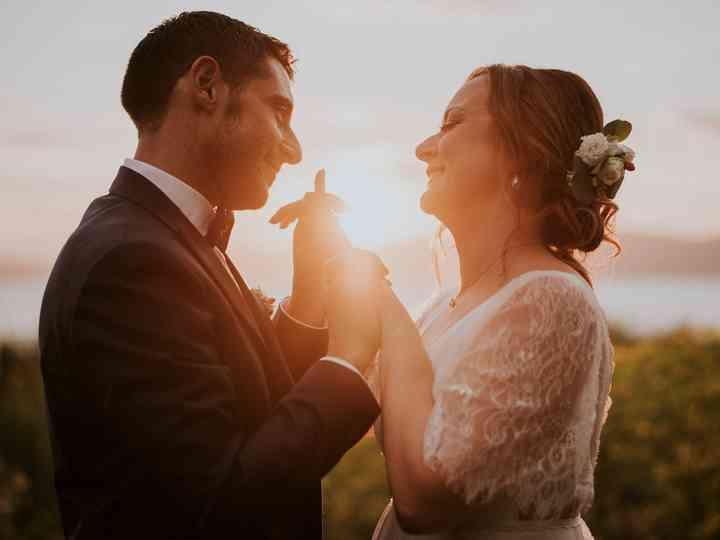 Le nozze di Alessia e Tony