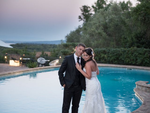 Il matrimonio di Mirko e Antonietta a Cerveteri, Roma 4