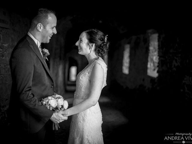 Il matrimonio di Ramon e Rachele a Coreglia Antelminelli, Lucca 50