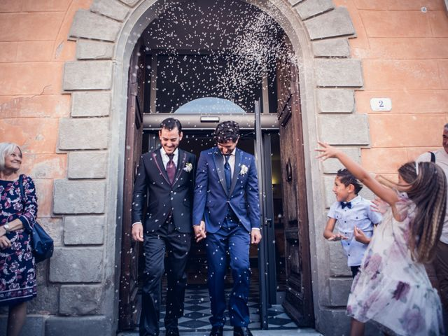 Il matrimonio di Michele e Federico a Orbetello, Grosseto 13