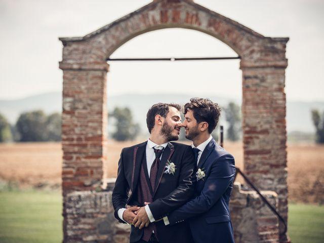 Il matrimonio di Michele e Federico a Orbetello, Grosseto 26